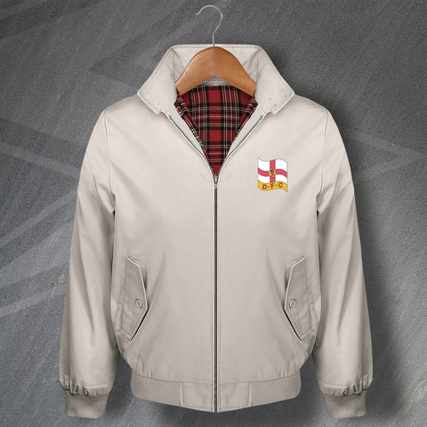 Retro Distillery Embroidered Classic Harrington Jacket