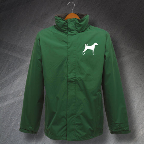 Dobermann Embroidered Waterproof Jacket