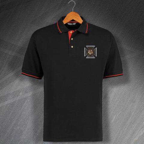 Duke of Edinburgh's Royal Regiment Embroidered Contrast Polo Shirt