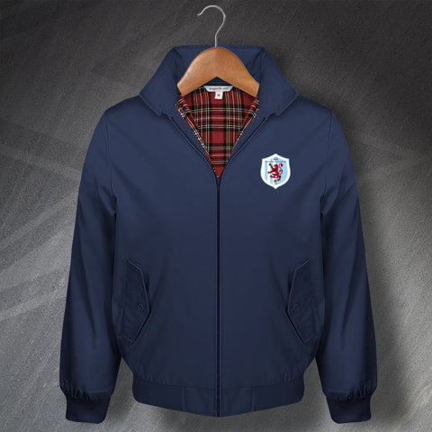 Retro Dundee East End Classic Harrington Jacket with Embroidered Badge