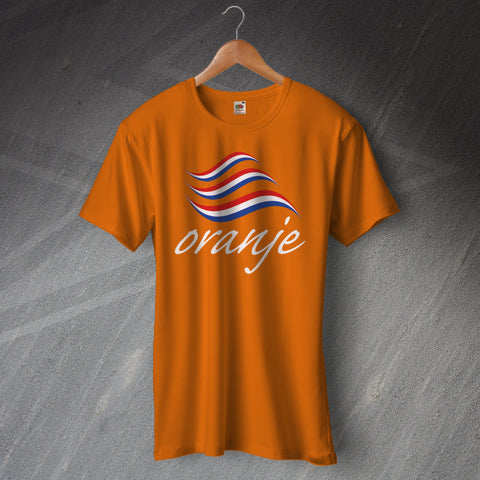 Netherlands Football T-Shirt Oranje