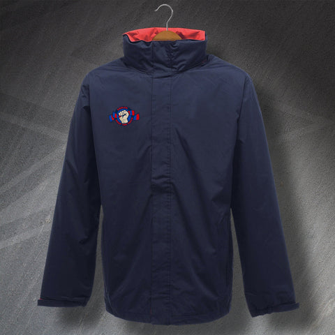 Eagles Embroidered Keep The Faith Waterproof Jacket