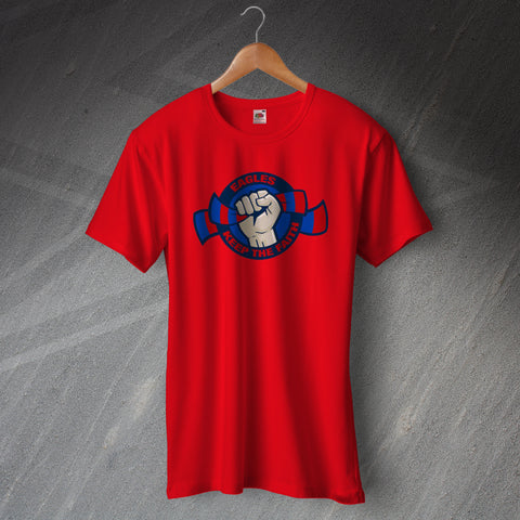 Palace Football T-Shirt Eagles Keep The Faith