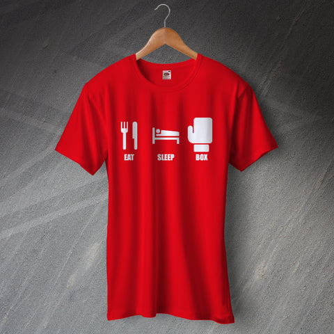 Boxing T-Shirt Eat Sleep Box