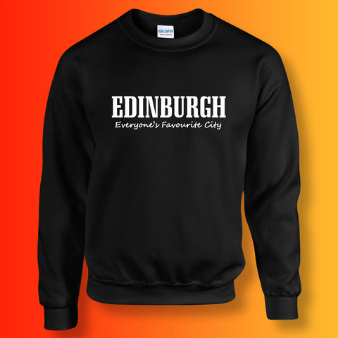 Edinburgh Sweatshirt with Everyone's Favourite City Design