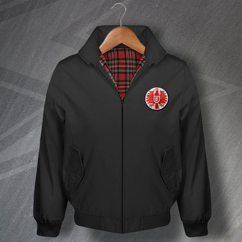 Retro Eintracht Frankfurt Embroidered Classic Harrington Jacket