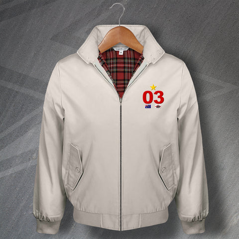 England Rugby Harrington Jacket Embroidered 03
