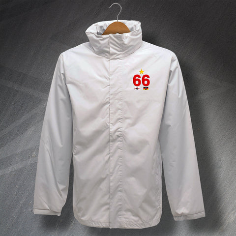 England Waterproof Football Jacket