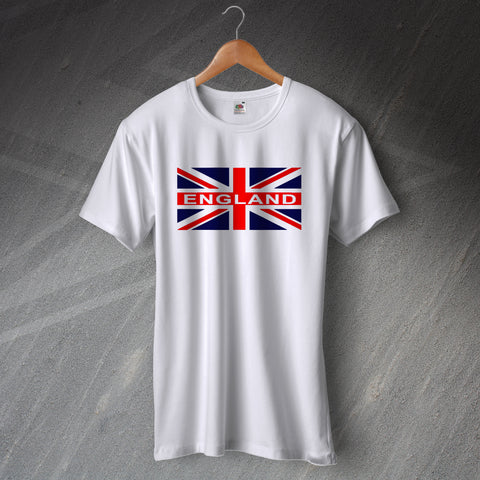 England Football T-Shirt Union Jack