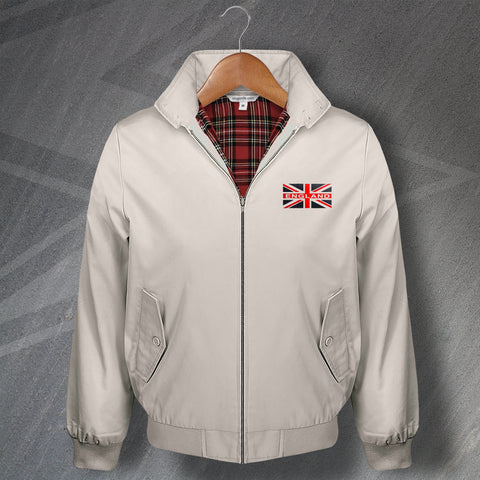 England Football Harrington Jacket Embroidered Union Jack