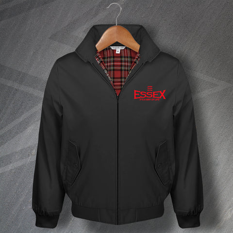 Essex Harrington Jacket Embroidered Essex It's a Way of Life