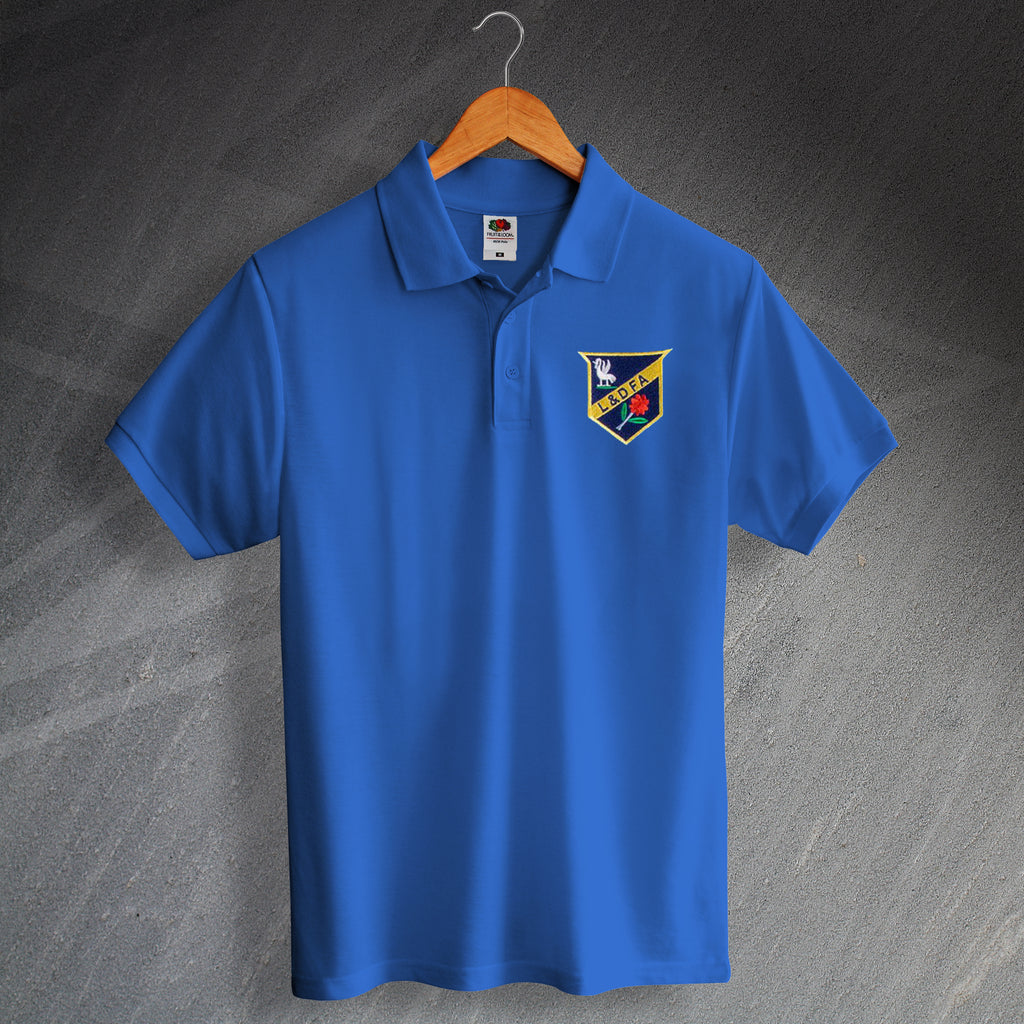 Retro Everton Polo Shirt