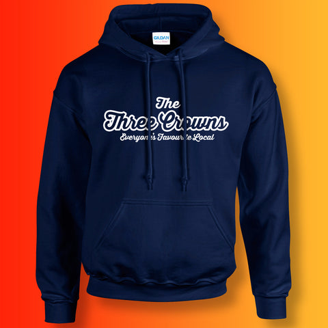 The Three Crowns Unisex Hoodie with Everyone's Favourite Local Design