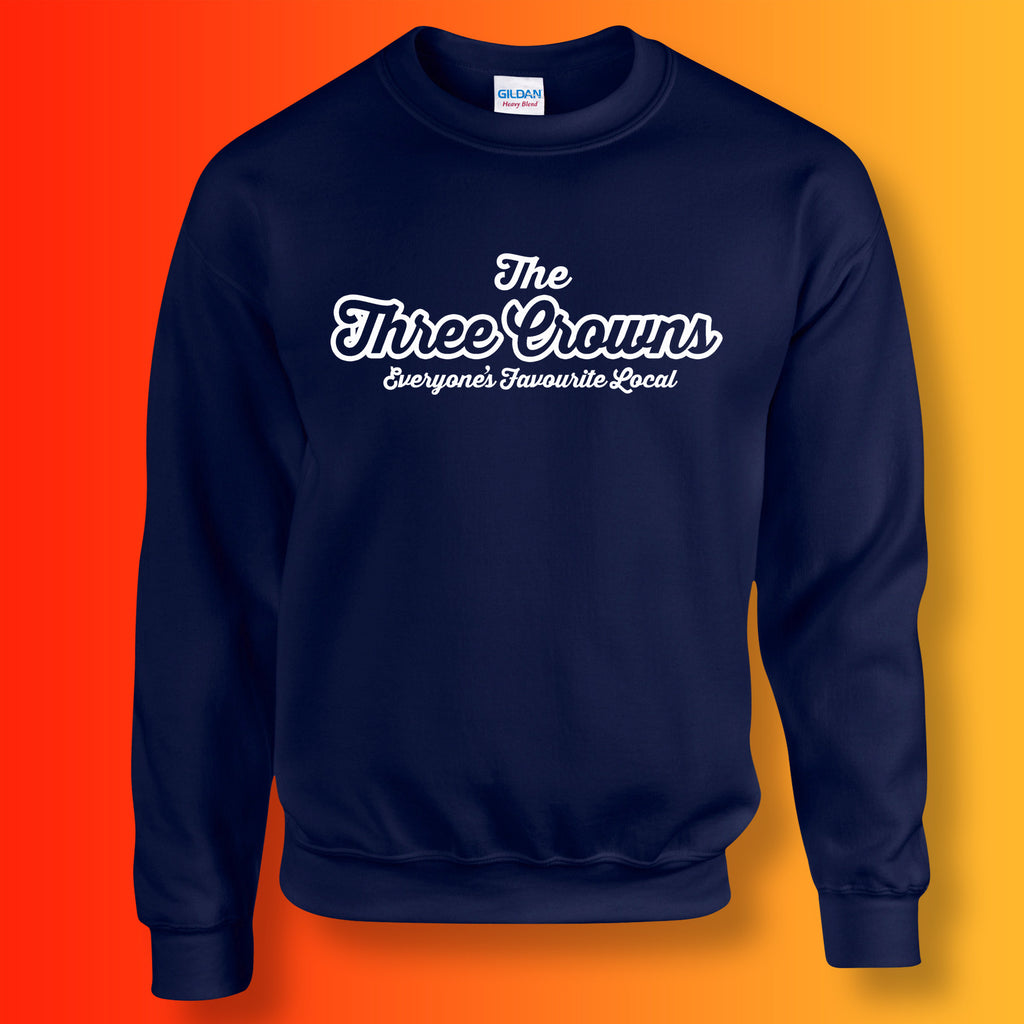 Three Crowns Everyone's Favourite Local Sweater Navy