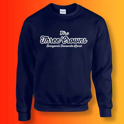 The Three Crowns Unisex Sweater with Everyone's Favourite Local Design