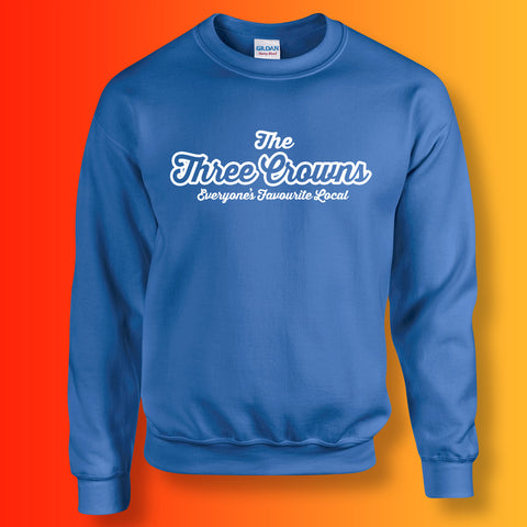 Three Crowns Everyone's Favourite Local Sweater Royal