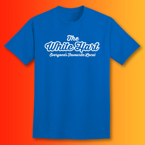The White Hart Unisex T-Shirt with Everyone's Favourite Local Design