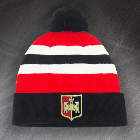 Exeter Football Bobble Hat Embroidered 1972