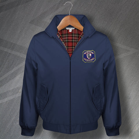 Falkirk Football Harrington Jacket Embroidered 1957