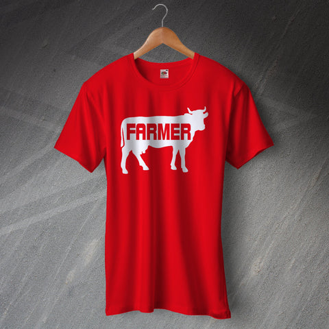 Farmer T-Shirt Cow