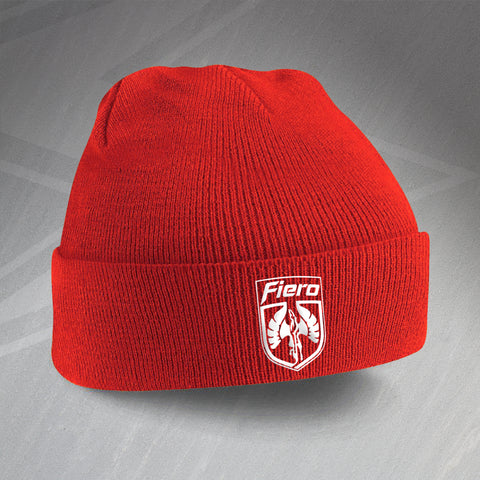 Fiero Beanie Hat Embroidered