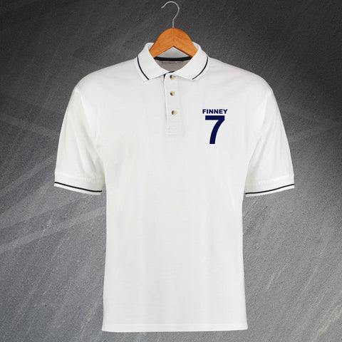 Finney 7 Embroidered Contrast Polo Shirt
