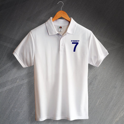 Finney 7 Embroidered Polo Shirt