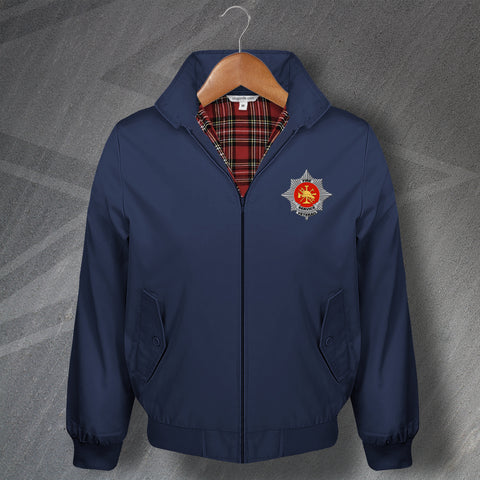 Fire Service Harrington Jacket Embroidered Fire Service Veteran