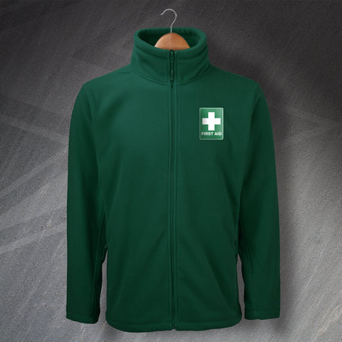 Nurse Fleece Embroidered First Aid
