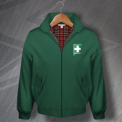 Nurse Harrington Jacket Embroidered First Aid