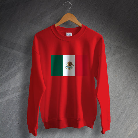 Mexico Sweatshirt Flag of Mexico