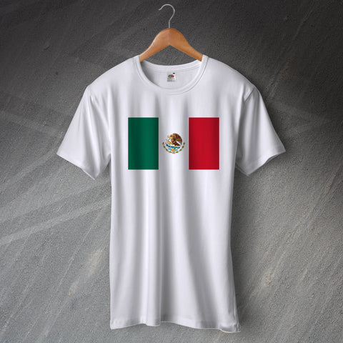 Mexico T-Shirt Flag of Mexico