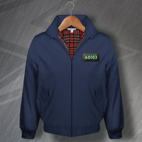 Flying Scotsman Harrington Jacket