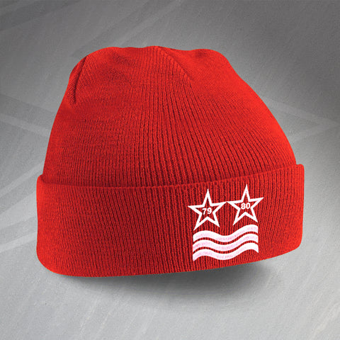 Forest Football Beanie Hat Embroidered European Winning Stars