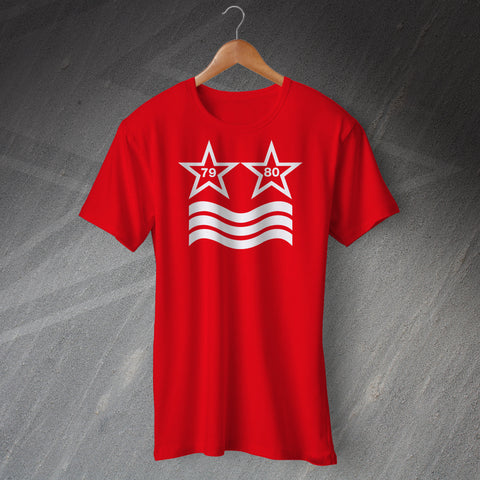 Forest Football T-Shirt European Winning Stars