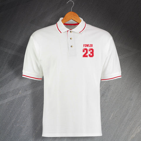 Fowler 23 Embroidered Contrast Polo Shirt