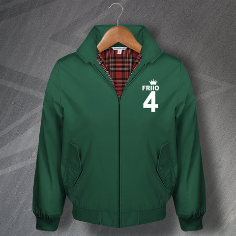 Friio 4 Football Harrington Jacket Embroidered