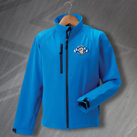 Montrose Football Jacket Embroidered Softshell Gable Endies Keep The Faith