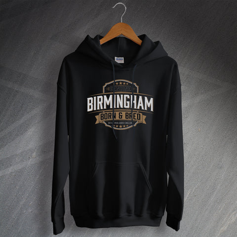 Birmingham Hoodie Genuine Born and Bred