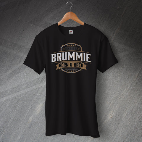 Birmingham T-Shirt Genuine Brummie Born and Bred