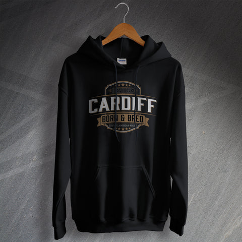 Cardiff Hoodie Genuine Born and Bred