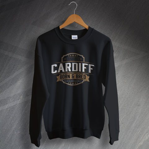 Cardiff Sweatshirt Genuine Born and Bred
