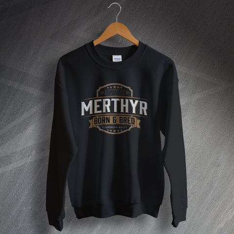 Genuine Merthyr Born and Bred Unisex Sweatshirt