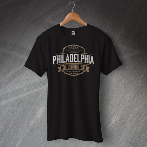 Genuine Philadelphia Born and Bred Unisex T-Shirt