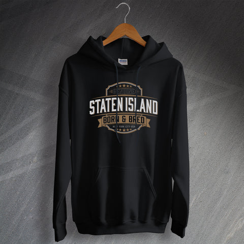 Genuine Staten Island Born and Bred Unisex Hoodie