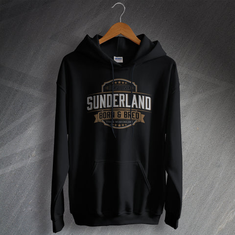 Genuine Sunderland Born and Bred Unisex Hoodie