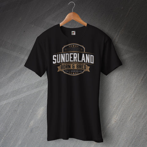 Genuine Sunderland Born and Bred Unisex T-Shirt
