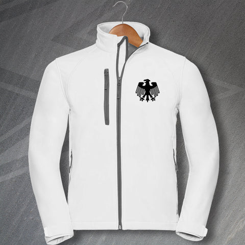 Germany Football Jacket Embroidered Softshell 1908