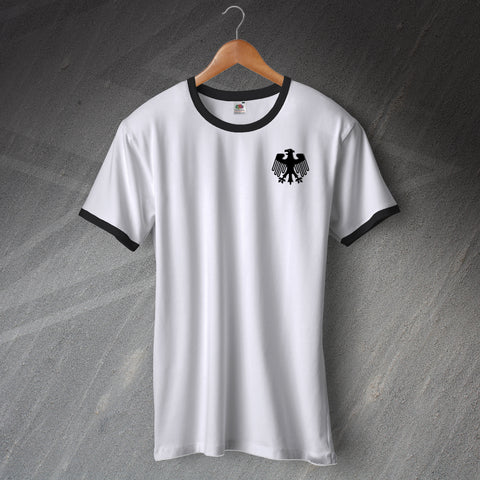 Germany Football Shirt Embroidered Ringer 1908