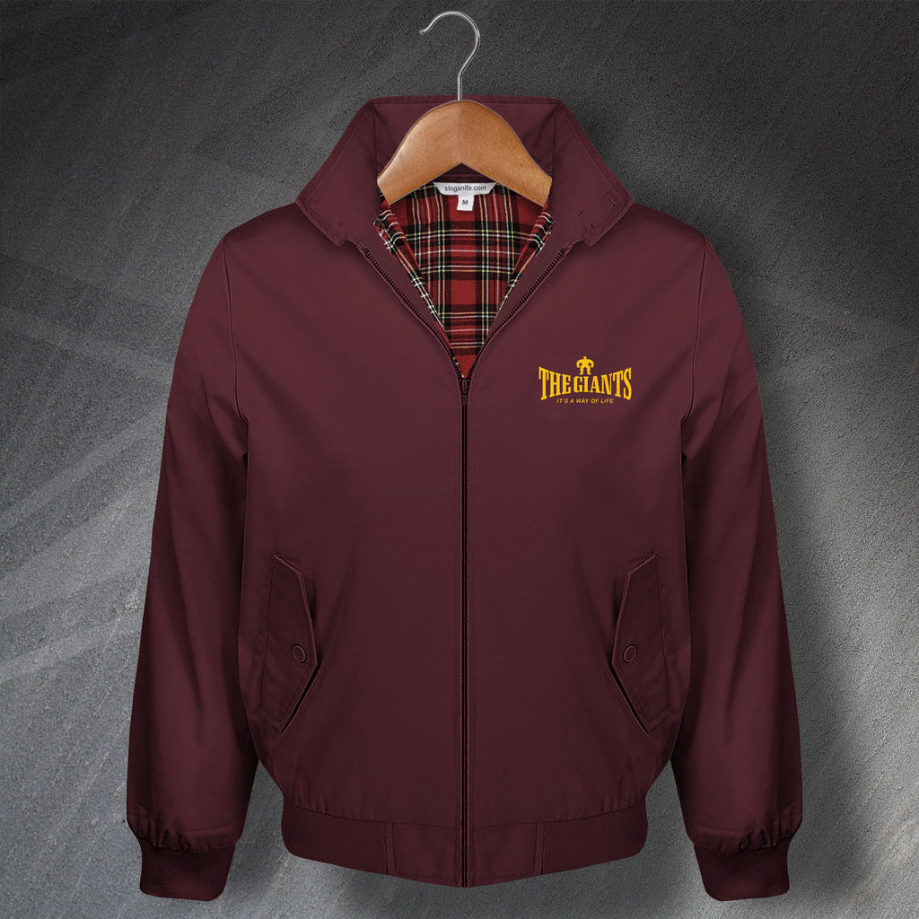 The Giants Rugby Harrington Jacket